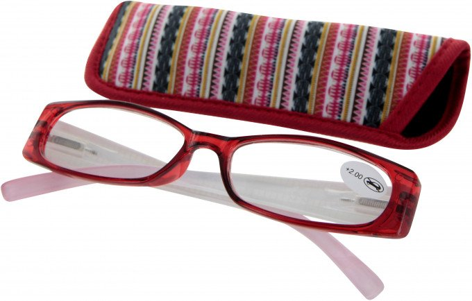 SFE 9325 Ready-made Reading Glasses in Red