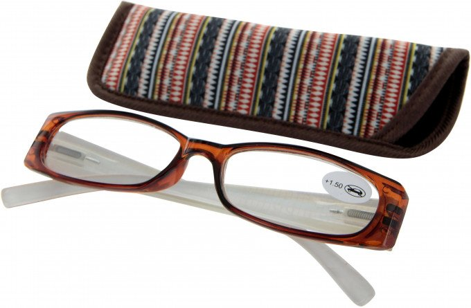 SFE 9325 Ready-made Reading Glasses in Brown
