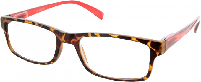 SFE 9328 Ready-made Reading Glasses in Red/Tortoiseshell