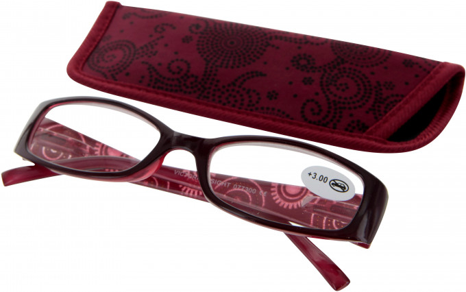SFE 9334 Ready-made Reading Glasses in Red