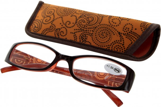 SFE 9334 Ready-made Reading Glasses in Orange