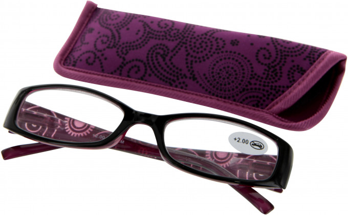 SFE 9334 Ready-made Reading Glasses in Pink