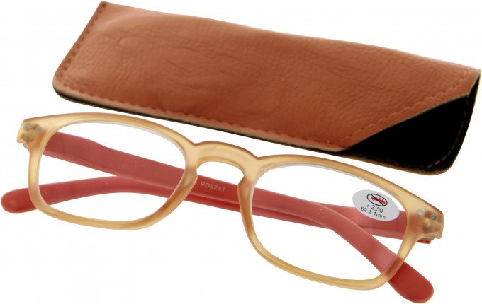 SFE 9335 Ready-made Reading Glasses in Orange