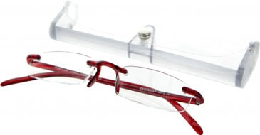 SFE 9337 Ready-made Reading Glasses in Red