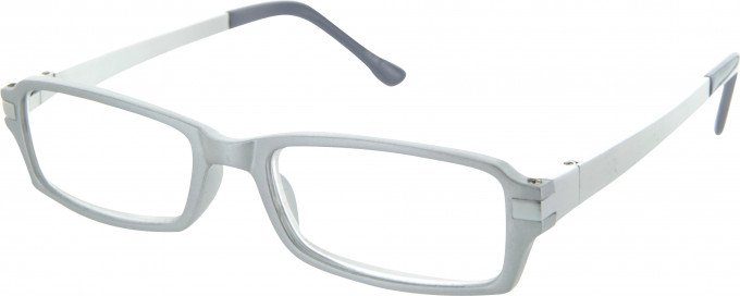 SFE 9339 Ready-made Reading Glasses in Silver