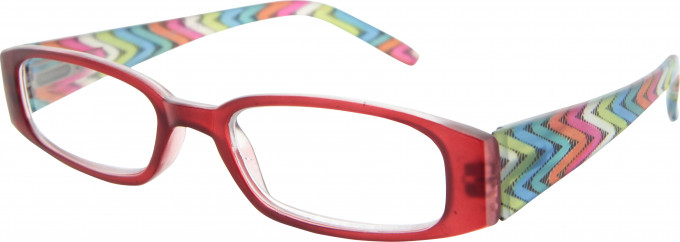 SFE 9341 Ready-made Reading Glasses in Red