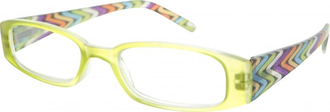 SFE 9341 Ready-made Reading Glasses in Green