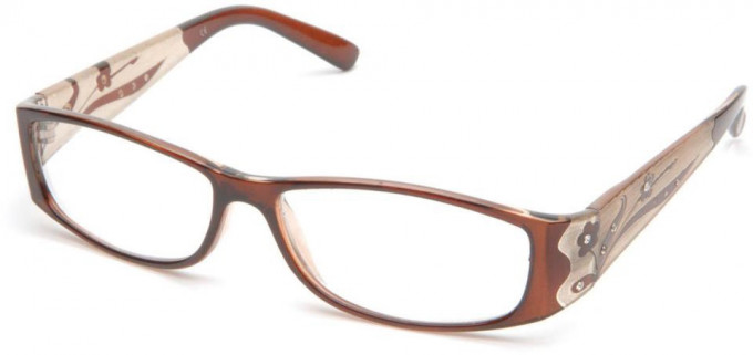 SFE 9343 Ready-made Reading Glasses in Brown