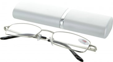 SFE 9345 Ready-made Reading Glasses in Silver