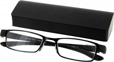 SFE 9348 Ready-made Reading Glasses in Black
