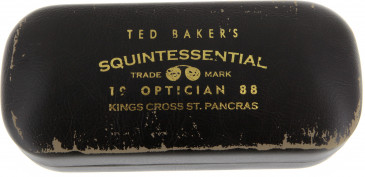 Ted Baker glasses case in Distressed Brown