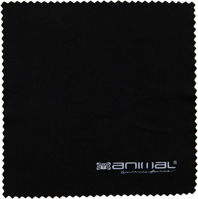 Animal lens cloth in Black