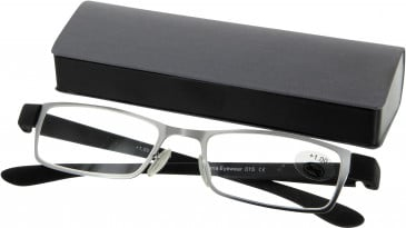 SFE 9348 Ready-made Reading Glasses in Grey