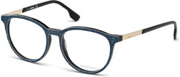 Diesel DL5117 Glasses in Matt Black