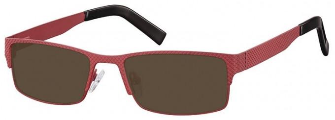 SFE-9372 Sunglasses in Burgundy