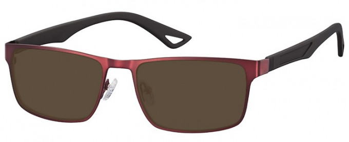 SFE-9356 Sunglasses in Burgundy