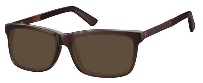 SFE-9366 Sunglasses in Brown