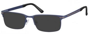 SFE-9371 Sunglasses in Blue/Orange