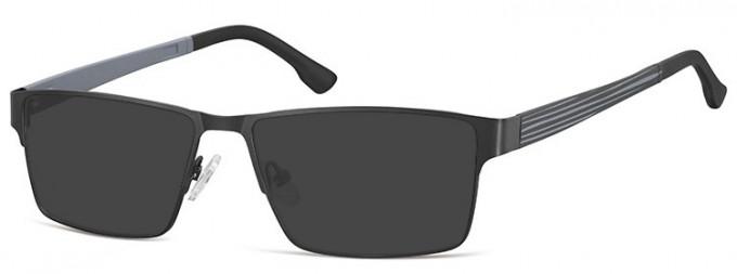 SFE-9352 Sunglasses in Black/Grey