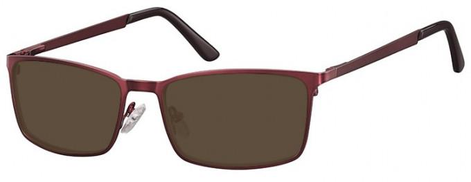 SFE-9354 Sunglasses in Burgundy