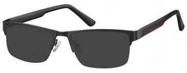 SFE-9355 Sunglasses in Black
