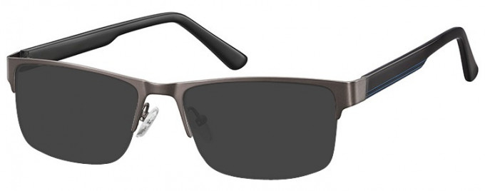 SFE-9355 Sunglasses in Gunmetal