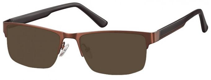 SFE-9355 Sunglasses in Brown
