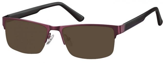 SFE-9355 Sunglasses in Purple