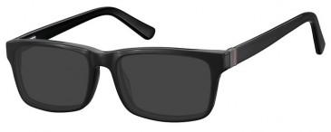 SFE-9365 Sunglasses in Black