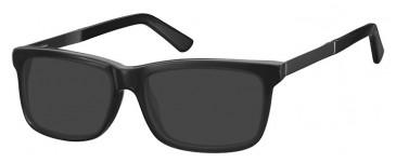 SFE-9366 Sunglasses in Black/Blue