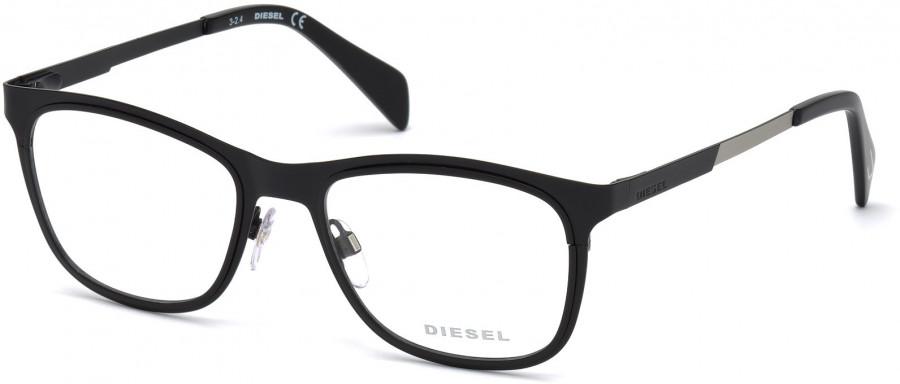 55ec7e307e Diesel DL5139 Glasses in Matt Black