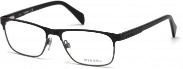 Diesel DL5171 Glasses in Black/Other
