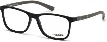 Diesel DL5176 Glasses in Matt Black