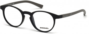 Diesel DL5177 Glasses in Matt Black