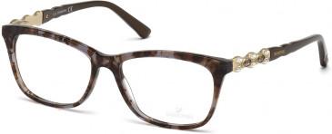Swarovski SK5133 Glasses in Shiny Black
