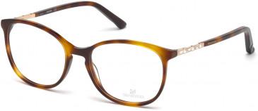 Swarovski SK5163 Glasses in Shiny Black