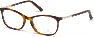 Swarovski SK5164 Glasses in Blonde Havana