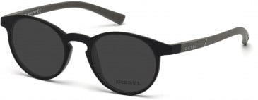 Diesel Small Plastic Ready-Made Reading Sunglasses