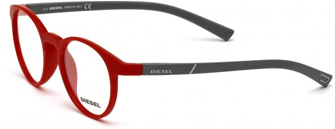 Diesel DL5177 Sunglasses in Matt Red