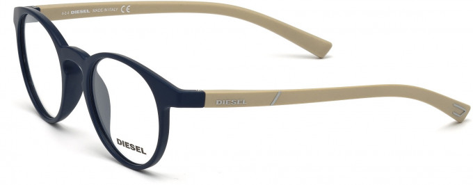Diesel DL5177 Sunglasses in Matt Blue