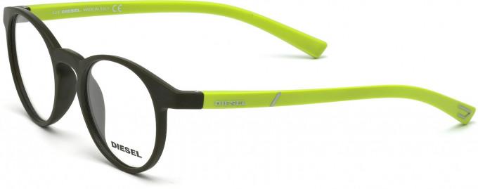 Diesel DL5177 Sunglasses in Matt Light Green