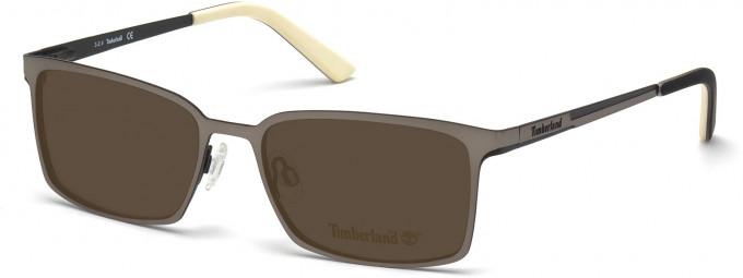 Timberland TB1317 Sunglasses in Matt Light Ruthenium