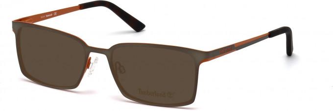 Timberland TB1317 Sunglasses in Matt Dark Green