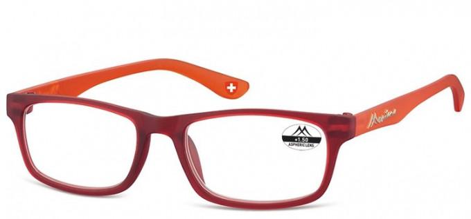 SFE-9377 Glasses in Burgundy/Orange