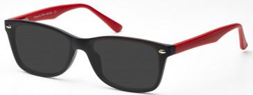 SFE-9376 Sunglasses in Matt Black