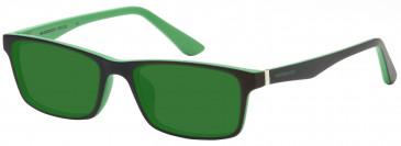 Crosshatch CRH120 Sunglasses in Green