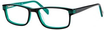 Gola Classics GOLA 20 Glasses in Black/Green Lines