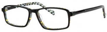 Gola Classics GOLA 18 Glasses in Black/Abstract Check