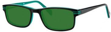 Gola Classics GOLA 20 Sunglasses in Black/Green Lines