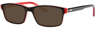 Gola Classics GOLA 15 Sunglasses in Black/Red